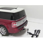 Thule Doubletrack Hitch Bike Rack Review - 2009 Ford Flex