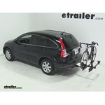Thule Doubletrack Hitch Bike Rack Review - 2009 Honda CR-V