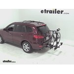 Thule Doubletrack Hitch Bike Rack Review - 2009 Hyundai Santa Fe
