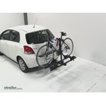 Thule Doubletrack Hitch Bike Rack Review - 2009 Toyota Yaris