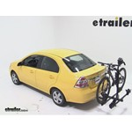 Thule Doubletrack Hitch Bike Rack Review - 2010 Chevrolet Aveo