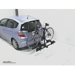 Thule Doubletrack Hitch Bike Rack Review - 2010 Honda Fit