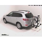 Thule Doubletrack Hitch Bike Rack Review - 2010 Hyundai Santa Fe