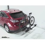 Thule Doubletrack Hitch Bike Rack Review - 2010 Lexus RX 350