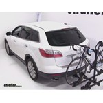 Thule Doubletrack Hitch Bike Rack Review - 2010 Mazda CX-9
