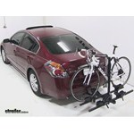 Thule Doubletrack Hitch Bike Rack Review - 2010 Nissan Altima