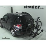 Thule Doubletrack Hitch Bike Rack Review - 2010 Subaru Forester