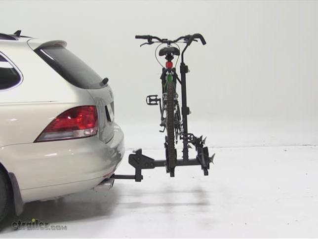 Thule Doubletrack Hitch Bike Rack Review 2010 Volkswagen Jetta Sportwagen Etrailer Com