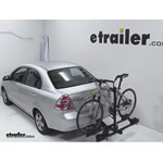 Thule Doubletrack Hitch Bike Rack Review - 2011 Chevrolet Aveo