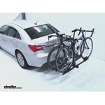 Thule Doubletrack Hitch Bike Rack Review - 2011 Chrysler 200