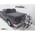 Thule Doubletrack Hitch Bike Rack Review - 2011 Dodge Ram Pickup