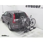 Thule Doubletrack Hitch Bike Rack Review - 2011 Honda CR-V