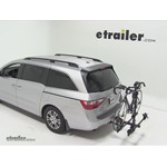 Thule Doubletrack Hitch Bike Rack Review - 2011 Honda Odyssey