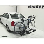 Thule Doubletrack Hitch Bike Rack Review - 2011 Hyundai Accent