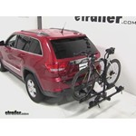 Thule Doubletrack Hitch Bike Rack Review - 2011 Jeep Grand Cherokee