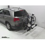 Thule Doubletrack Hitch Bike Rack Review - 2011 Kia Sorento