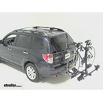 Thule Doubletrack Hitch Bike Rack Review - 2011 Subaru Forester
