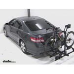 Thule Doubletrack Hitch Bike Rack Review - 2011 Toyota Camry