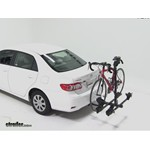 Thule Doubletrack Hitch Bike Rack Review - 2011 Toyota Corolla
