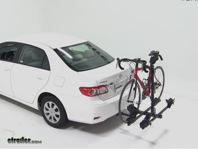 Today On This 2017 Toyota Corola Were Going To Do A Test Fit Of Part Number Th990xt From Thule The Doubltrack Platfrom 2 Bike Rack