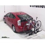 Thule Doubletrack Hitch Bike Rack Review - 2011 Toyota Prius