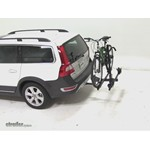 Thule Doubletrack Hitch Bike Rack Review - 2011 Volvo XC70