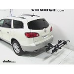 Thule Doubletrack Hitch Bike Rack Review - 2012 Buick Enclave
