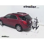 Thule Doubletrack Hitch Bike Rack Review - 2012 Chevrolet Equinox