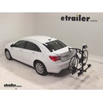 Thule Doubletrack Hitch Bike Rack Review - 2012 Chrysler 200