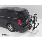 Thule Doubletrack Hitch Bike Rack Review - 2012 Dodge Grand Caravan