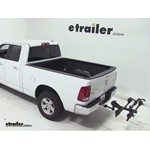 Thule Doubletrack Hitch Bike Rack Review - 2012 Dodge Ram