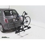 Thule Doubletrack Hitch Bike Rack Review - 2012 Fiat 500