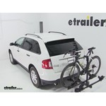 Thule Doubletrack Hitch Bike Rack Review - 2012 Ford Edge