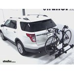 Thule Doubletrack Hitch Bike Rack Review - 2012 Ford Explorer