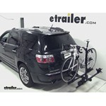 Thule Doubletrack Hitch Bike Rack Review - 2012 GMC Acadia