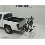 Thule Doubletrack Hitch Bike Rack Review - 2012 GMC Canyon