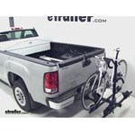 Thule Doubletrack Hitch Bike Rack Review - 2012 GMC Sierra
