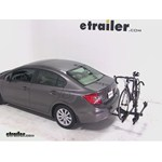 Thule Doubletrack Hitch Bike Rack Review - 2012 Honda Civic