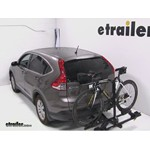 Thule Doubletrack Hitch Bike Rack Review - 2012 Honda CR-V