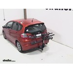 Thule Doubletrack Hitch Bike Rack Review - 2012 Honda Fit