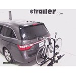 Thule Doubletrack Hitch Bike Rack Review - 2012 Honda Odyssey