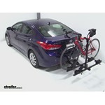 Thule Doubletrack Hitch Bike Rack Review - 2012 Hyundai Elantra