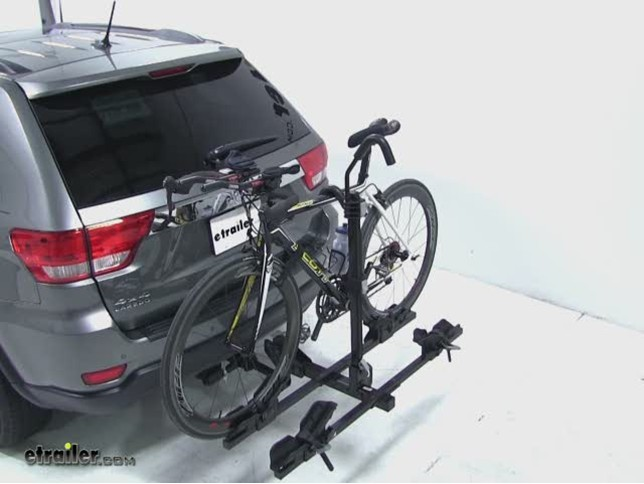 how to put on thule bike rack hitch bicycling and the. Black Bedroom Furniture Sets. Home Design Ideas