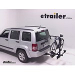 Thule Doubletrack Hitch Bike Rack Review - 2012 Jeep Liberty