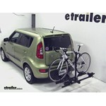 Thule Doubletrack Hitch Bike Rack Review - 2012 Kia Soul