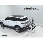 Thule Doubletrack Hitch Bike Rack Review - 2012 Land Rover Evoque