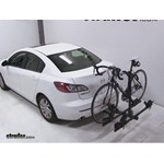 Thule Doubletrack Hitch Bike Rack Review - 2012 Mazda 3