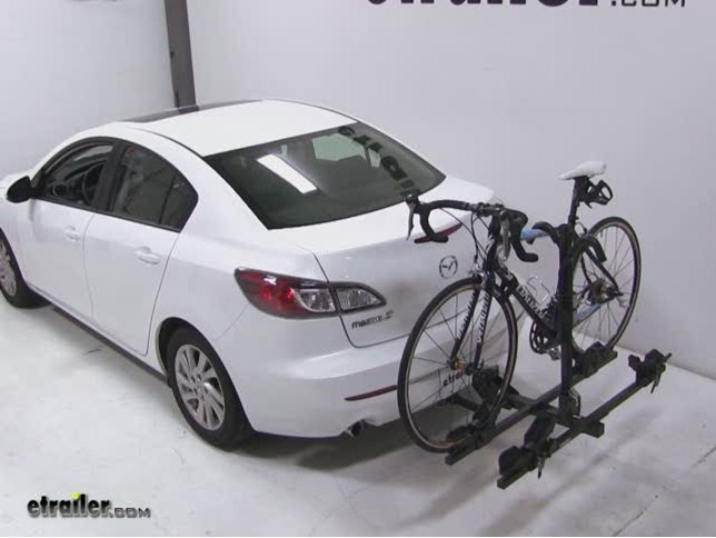 Thule Doubletrack Hitch Bike Rack Review 2012 Mazda 3 Video