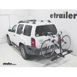 Thule Doubletrack Hitch Bike Rack Review - 2012 Nissan Xterra