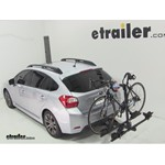 Thule Doubletrack Hitch Bike Rack Review - 2012 Subaru Impreza